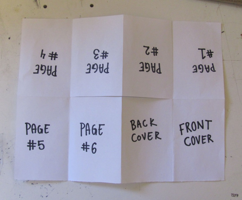 How To Make A One Page Zine Experiment With Nature