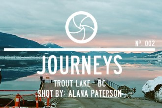 Journey 002 - Trout Lake, BC by Alana Paterson
